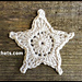 Star Ornament Applique pattern