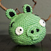 Angry Birds Green Pig pattern