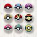 Pokemon Balls x 9 pattern