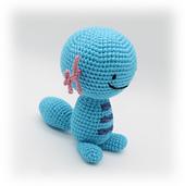 Crochet Wooper Pokemon Axolotl Pattern
