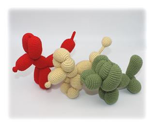 Balloon Dogs Crochet Pattern