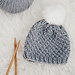 Moss Stitch Baby Hat pattern