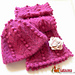 Dew and berry Hat pattern