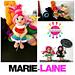 Marie-Laine au pays de Francrochet pattern