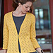 Leaf and Picot Cardigan pattern