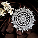 Doily Moon Well pattern
