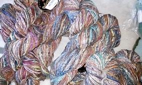 NORO HANIWA YARN or 8 5 Silk//Wool//Nylon -Great for Knit or Crochet Colors 3