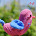 Amigurumi Pájaro pattern