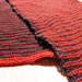 Small Scarf Black&Red pattern