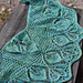 22 leaves shawlette  pattern