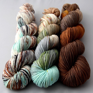 Hunter's Moon, only (online and in person) from Twisted Yarn Shop.