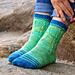 Shiver of Sharks Socks pattern
