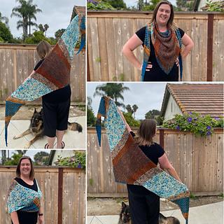 Larger size shawl