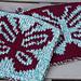 Double Knit Butterfly Hot Pad pattern