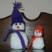 Standup Snowmen pattern
