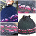 Rose Poncho pattern