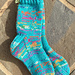 Double Yarn Socks for Charity pattern