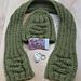 Alphabet beanie with matching scarf pattern