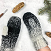 Cookies and Cream Mittens pattern