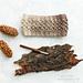 Coffee Bean Ear Warmer pattern