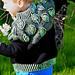 Hugging Leaves brioche jumper pattern