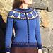 Blåveis / Blue Anemone pattern
