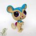 Amigurumi mouse with big eyes crochet doll pattern