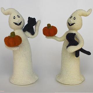Crochet Amigurumi Cat Free Patterns | Halloween crochet patterns ... | 320x320
