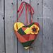 Crochet Patchwork Heart Amigurumi pattern