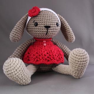 Miss Bunny | Crochet bunny, Crochet baby toys, Crochet dolls | 320x319