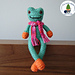 Raynette the frog pattern