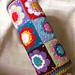 Kunterbunte Nackenrolle /Colorful bolster pattern