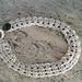Folded lace necklace pattern