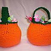 Shaped Pumpkin Treat Bag pattern
