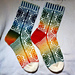 Firkløver Sokk/ 4 Leaf Clover Sock pattern