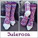Julerosa Sokk pattern