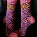 Solrose sokk pattern