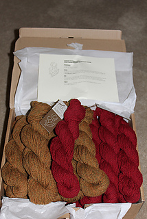 Part of the required yarn