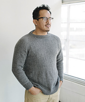 Liam - top-down pullover