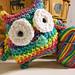 Colorful + Cute Owl Amigurumi pattern