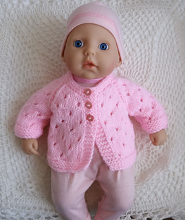 Ravelry: Baby Annabell Jacket pattern by linda Mary