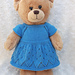 Teddy top down dress pattern