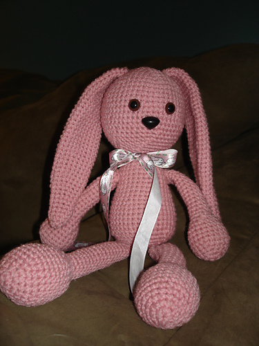 Soft bunny amigurumi plush pattern | Amiguroom Toys | 500x375