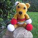 Benny the Patchwork Bear pattern