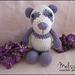 Precious the Purple Panda pattern