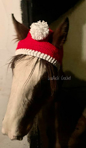 FREE Crochet pattern to crochet a horses hat