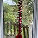 Spiral windspinner Poppy pattern