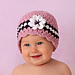 Girl Cloche Hat With Flower #4 pattern
