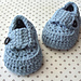 Boy Baby Loafers Pattern #2 pattern
