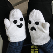 Haunted House Mitts